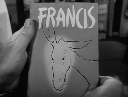 "From Arthur Lubin's transformation of David Stern's ""Francis"" (1950)."
