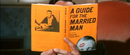 "From the preview for Gene Kelly's simplification of Frank Tarloff's ""Guide for the Married Man"" (1966)."