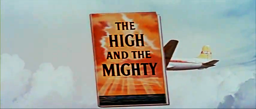 "From the trailer for William Wellman's explanation of Ernest K. Gann's ""The High and the Mighty"" (1954)."