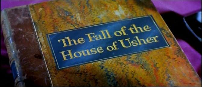 "From the trailer for Roger Corman's laudation of Edgar Allan Poe's ""House of Usher"" (1960)."