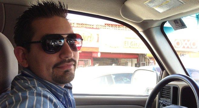 Arturo, driving