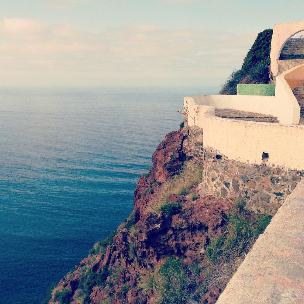 A lookout point in Ensanada