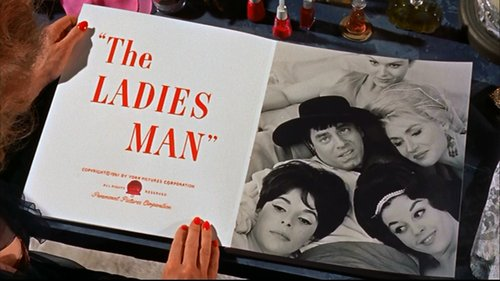 "From Jerry Lewis' beatification of Joseph Levitch's ""The Ladies Man"" (1961)."