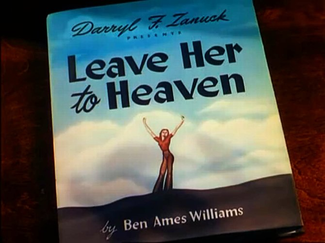 "From John Stahl's deification of Ben Ames Williams' ""Leave Her to Heaven"" (1945)."