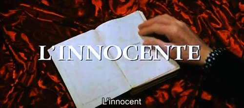 "From Luchino Visconti's reading of Gabriele D'Annunzio's ""L'Innocente"" (1976)."