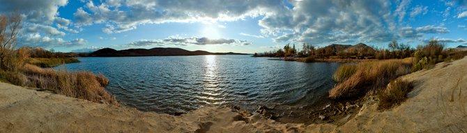 Lake Skinner County Park near Temecula