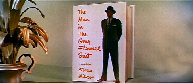 """From the trailer for Nunnally Johnson's glorification of Sloane Wilson's """"The Man in the Gray Flannel Suit"""" (1956)."""
