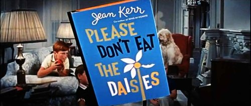 "From the trailer for Charles Walters' frolicsome transformation of Jean Kerr's ""Please Don't Eat the Dasies"" (1960)."