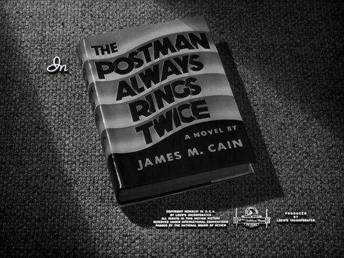 "Tay Garnett raising Cain's ""The Postman Always Rings Twice"" (1946)."