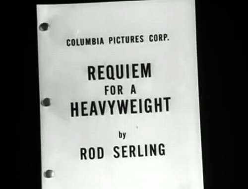 "Ralph Nelson gives Rod Serling's ""Requiem for a Heavyweight"" (1962) just the right TV look it needed."