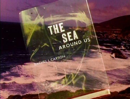 """Irwin Allen drops rotonone in Rachel L. Carson's """"The Sea Around Us"""" (1953)."""