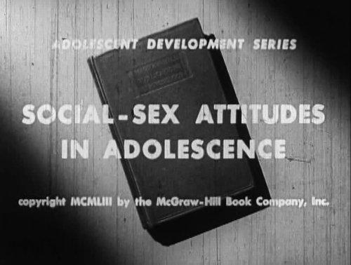 """Pat McGroin's """"Social-Sex Attitudes in Adolescence"""" (1953)."""