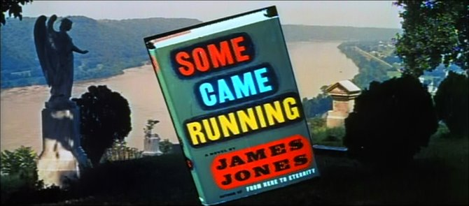 "From the coming attraction for Vincente Minnelli's glorification of James Jones' ""Some Came Running"" (1959)."