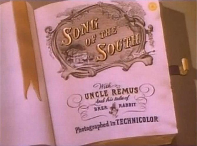 "From a certain animation studio located in Burbank that wants nothing more than to disassociate themselves from their cartoon spin on Joel Chandler Harris' ""Tales of Uncle Remus"" (1946)."