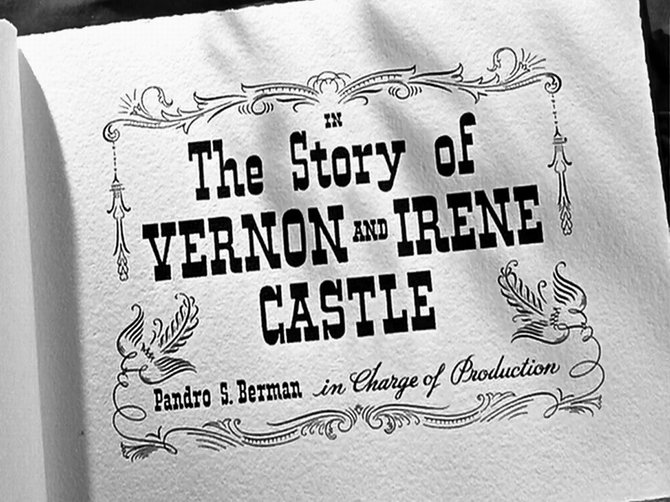 "H.C. Potter pays homage to Irene Castle's ""My Memories of Vernon Castle"" (1938)."