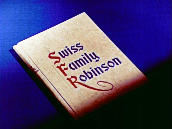 "Johann David Wyss' ""Swiss Family Robinson""   reborn as Edgar G. Ulmer's pilot for a never produced 1958 TV series."
