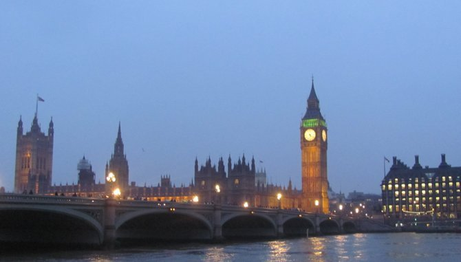 London's Parliament with Big Ben