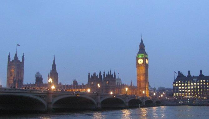 London's Parliament with Big Ben