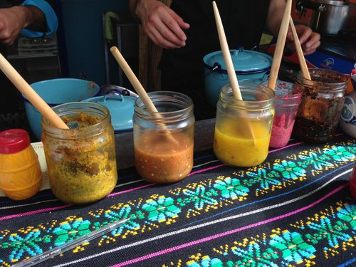 Salsas at Kokopelli