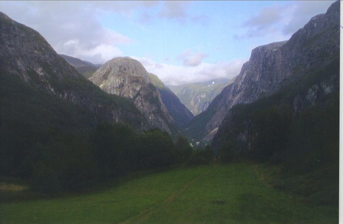 View near Flam, Norway