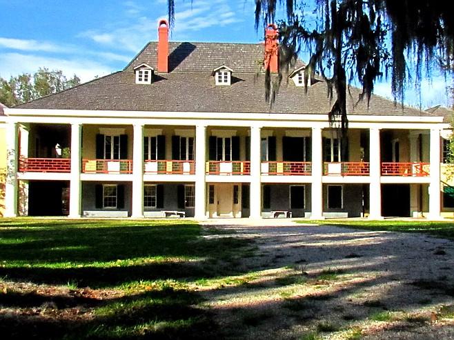 Destrehan Plantation, the lower Mississippi's oldest documented plantation home, dates to 1787.