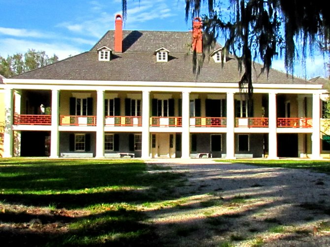Destrehan Plantation, the lower Mississippi's oldest documented plantation home, dates to 1787.