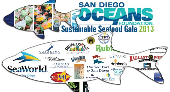 The San Diego Oceans Foundation fed some free gala tickets to the sharks at the Port of San Diego.