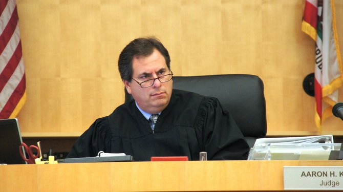 Honorable Judge Aaron Katz denied access for an admitted abuser.  Photo Weatherston.
