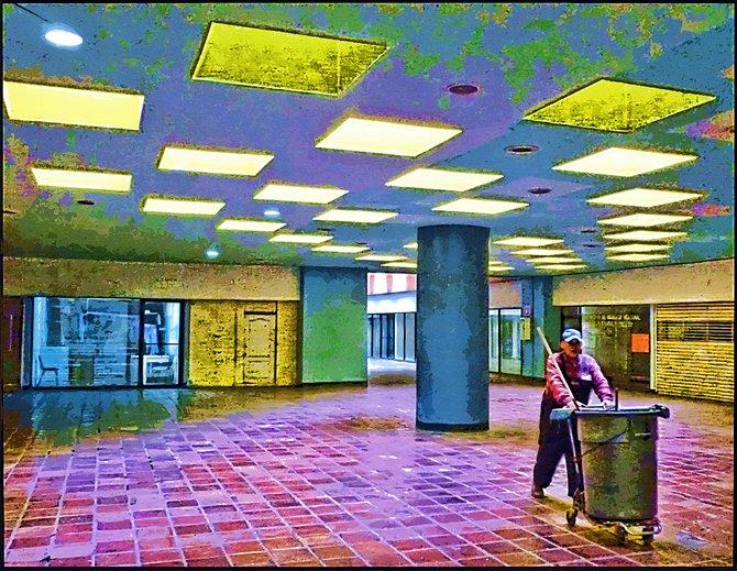 Neighborhood Photos TIJUANA,BAJA CALIFORNIA Skylights in Shopping Mall in Tijuana/Trgaluces en Centro Comercial en Tijuana