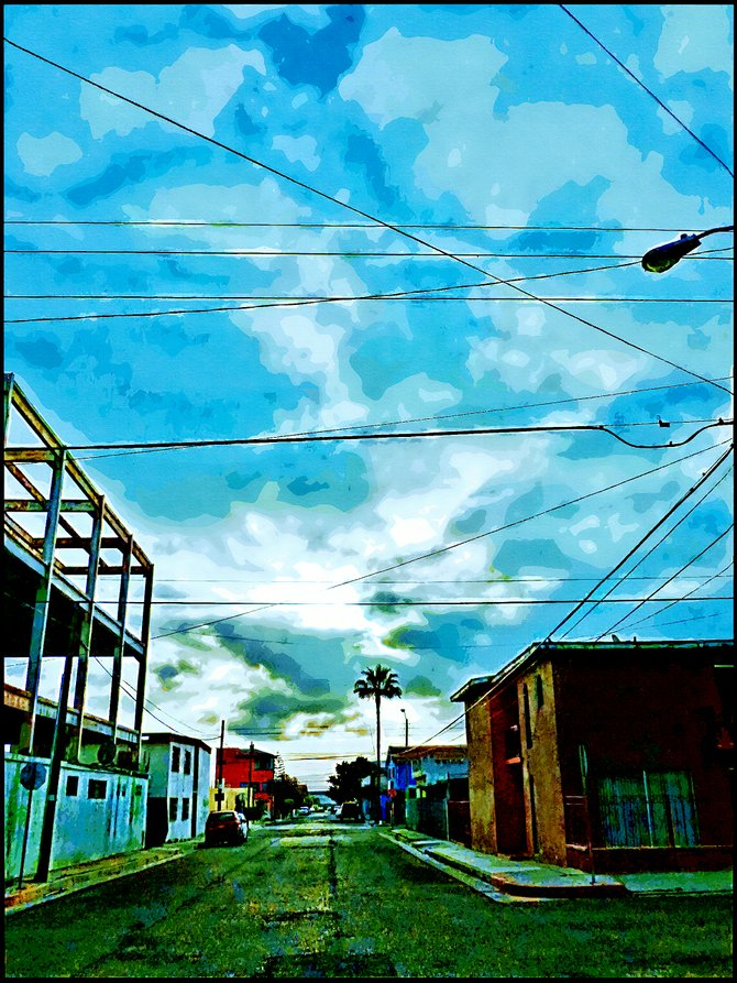 Neighborhood Photos TIJUANA,BAJA CALIFORNIA Early morning in Otay in Tijuana/Temprano en Otay en Tijuana.