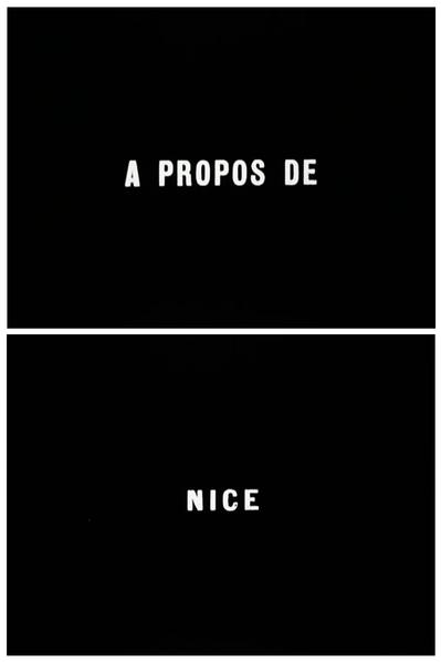"""Jean Vigo's """"À propos de Nice"""" (1930)."""