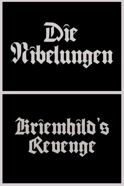 """Fritz Lang's """"Die Nibelungen - Kriemheld's Revenge"""" (1924)."""