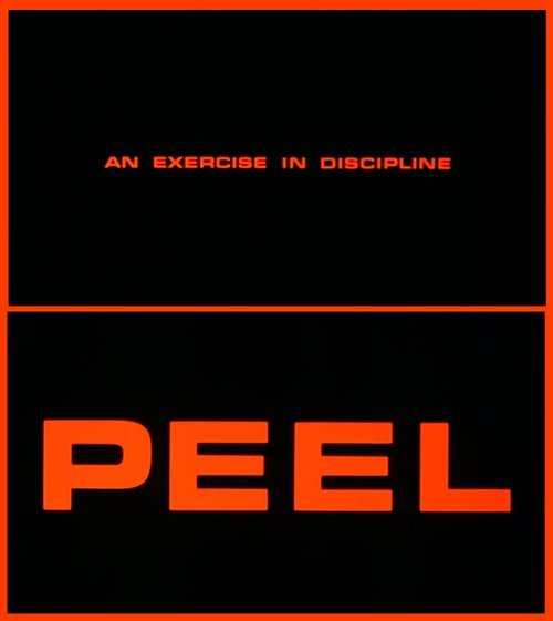 "Jane Campion's ""An Exercise in Discipline - Peel"" (1982)."