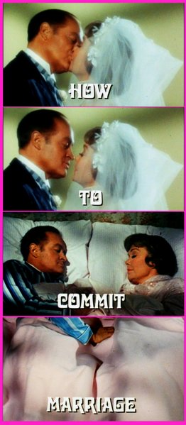 "Ingmar Bergman's ""How to Commit Marriage"" (1969)."