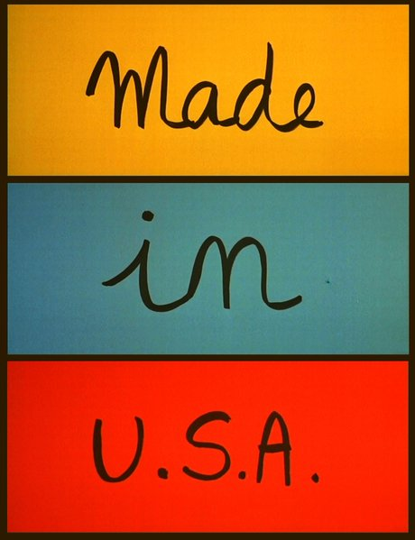 "From the trailer for Jean-Luc Godard's ""Made in U.S.A."" (1966)."