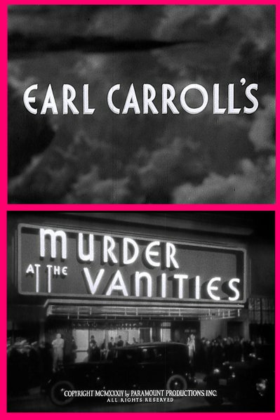 "From Mitchell Leisen's ""Earl Carroll's Murder at the Vanities"" (1934)."