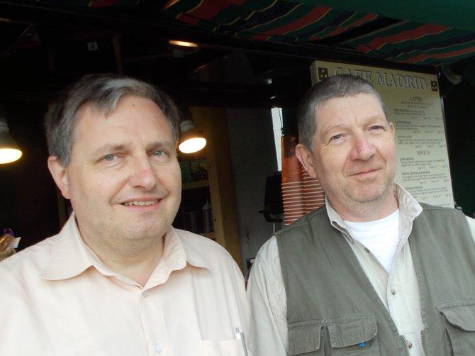 Hans-Peter and Johann