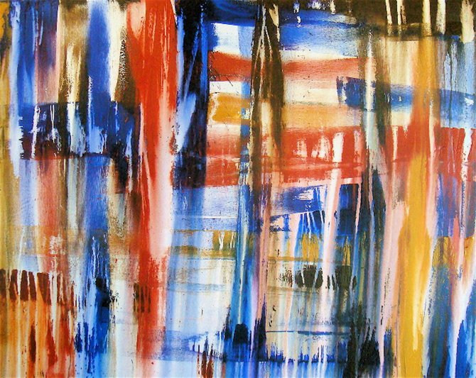 Erik Skoldberg painting