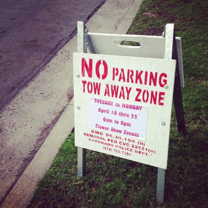 Spreckels parking limited this week.