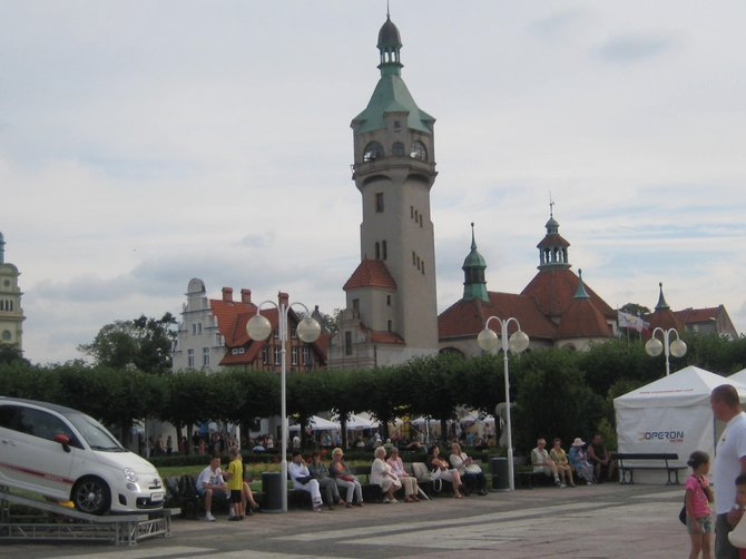 The town of Sopot.