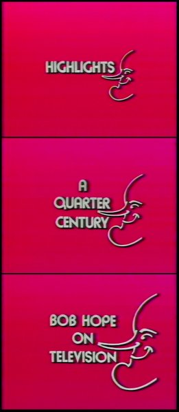 "Jean-Marie Straub's ""Highlights - A Quarter Century: Bob Hope on Television"" (2029)."