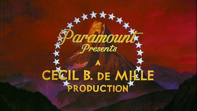 """""""The Ten Commandments"""" (1955)."""