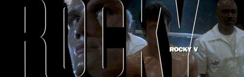 """John G. Avildsen's """"Rocky V"""" (1990)."""