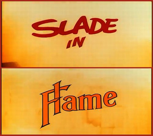 "Richard Loncraine's ""Slade in Flame"" (1975)."