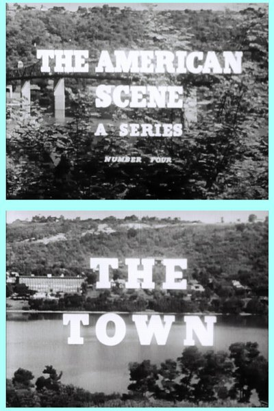 "Josef von Sternberg's ""The American Scene No. 4: The Town"" (1944)."