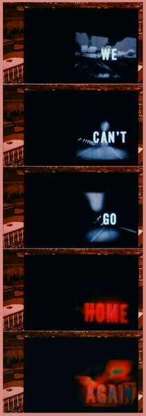 "Nicholas Ray's ""We Can't Go Home Again"" (1976)."