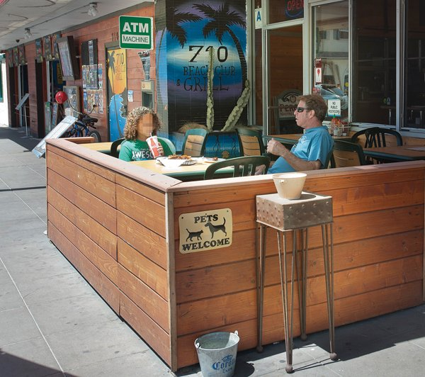 Neighbors say noise coming from 710 Beach Club in Pacific Beach has gone from bad to worse since the city granted an outdoor dining permit.