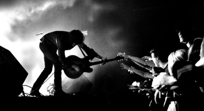 SanFran fuzz-rock band Black Rebel Motorcycle Club rolls into House of Blues on Tues.