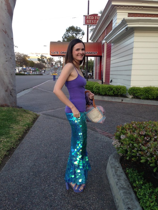 Terri, the mermaid