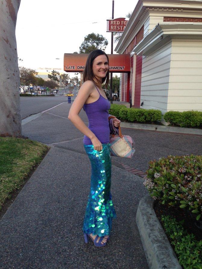 Terri, the mermaid